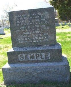 John W Semple