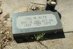 """Idaho May """"Ida"""" <I>Manasco</I> Hite"""