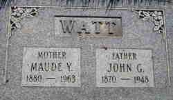 Fanny Maude <I>Young</I> Watt