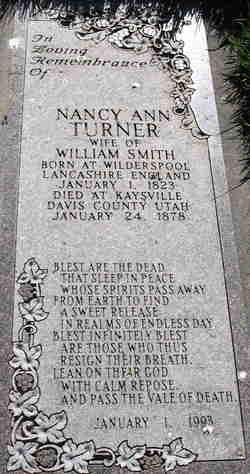 Nancy Ann <I>Turner</I> Smith