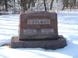Nancy Jane <I>Johnson</I> Coolman