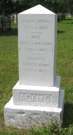 Rebecca Ann <I>Bass</I> Adams