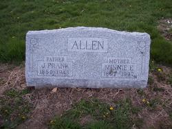 Minnie Eliza <I>Washburn</I> Allen