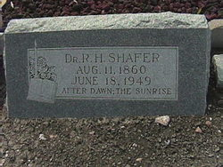 Dr R H Shafer