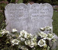 Mary Ann <I> Baker</I> Algiere