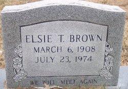 Elsie Emmaline <I>Taylor</I> Brown