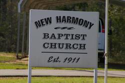 New Harmony Baptist Church Cemetery