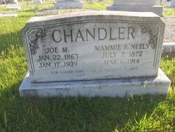 Mammie R <I>Neely</I> Chandler