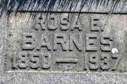 Rosa Ellen <I>Webb</I> Barnes