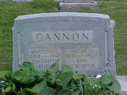 Oscar Chamberlain Cannon, Sr