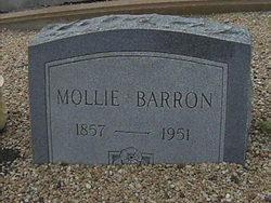 "Mary Jane ""Mollie"" <I>Cooper</I> Barron"