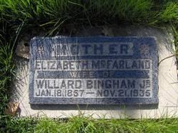 Elizabeth <I>McFarland</I> Bingham