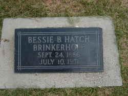 Bessie Bouton <I>Hatch</I> Brinkerhoff