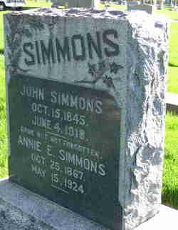 Annie Elizabeth <I>Smith</I> Simmons