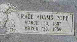 Grace <I>Adams</I> Pope