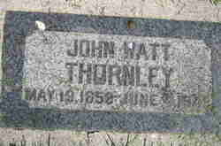 John Watt Thornley