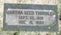 Martha <I>Seed</I> Thornley