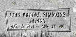 "John Brooke ""Johnny"" Simmons"