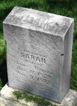 Sarah <I>Marwood</I> Warren