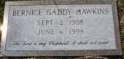 Bernice <I>Gaddy</I> Hawkins