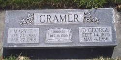Mary Janette <I>Thompson</I> Cramer