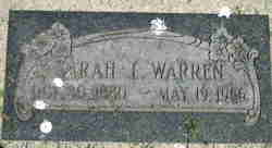 Sarah Isabell Warren