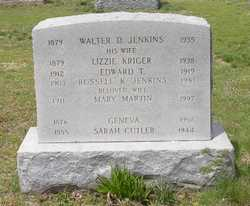 Sarah Ann <I>Cutler</I> Jenkins