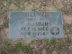 Stella Janet <I>King</I> Adams