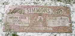 Hannah Maria <I>Shackell</I> Simmons