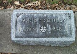 Annie Elizabeth <I>West</I> Bradley