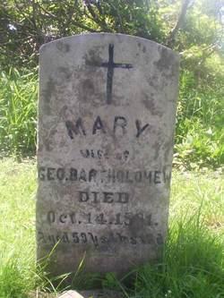 Mary <I>Carpentier</I> Bartholomew