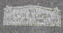 Ruth Ella <I>Millyard</I> Gibson