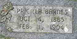 Pricilla Webb Barnes