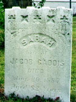 Sarah <I>Combs</I> Gaddis