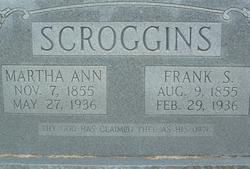 Martha Ann <I>Herd</I> Scoggins
