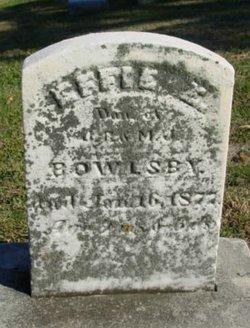 Effie E Bowlsby