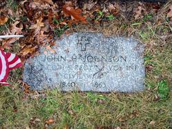 Pvt John H. Johnson