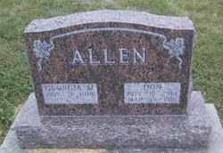 Georgia M Allen