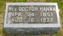 Rev Doctor Hanna