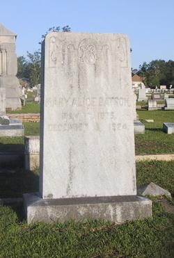 Mary Alice <I>Denham</I> Batson