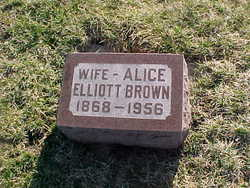 Alice <I>Elliott</I> Brown