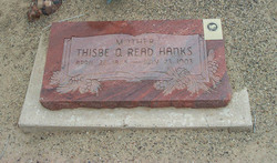 Thisbe Quilley <I>Read</I> Hanks