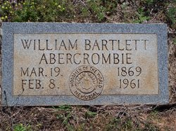 William Bartlett Abercrombie
