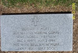 Sgt Maj Edgar R Huff