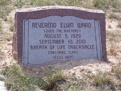 Rev Elvin Ward