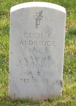 Cecil Eugene Aldridge