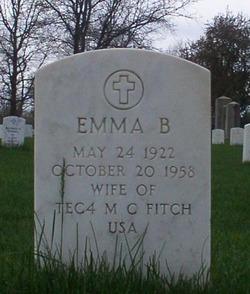 Emma B Fitch