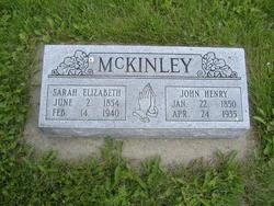 Sarah Elizabeth <I>Nichols</I> McKinley