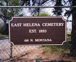 East Helena City Cemetery