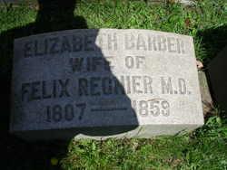 Elizabeth <I>Barber</I> Regnier